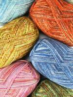 KFI Collection - Indulgence Sock 4-ply Superwash Merino Wool Yarn (459 yards)