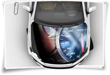 Speed Tacho Race Motor-Sport Motorhaube Auto-Aufkleber Schutz-Folie Tuning Sport