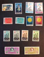 1969-69 VF Mint Hinged 5 Sets