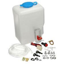 1.8L 12V Car SUV Windshield Washer Reservoir Pump Bottle Hose Jets Kit Universal