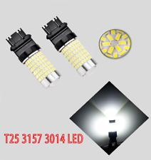 Front Signal Light 144 LED Bulb White CK T25 3157 3057 3457 4157 B1 For Ford