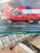 Collection Of 3 Scale 1.43 Lancia Stratos , Cadillac Eldorado, Austin -Healey...