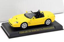 Ferrari 550 barchetta año de construcción 1996-2001 amarillo 1:43 Ixo Altaya