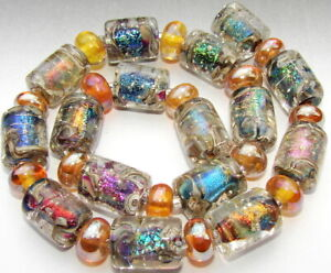 "Sistersbeads ""J-Ethereal"" Handmade Lampwork Beads"