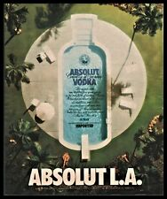1990 ABSOLUT VODKA AD~L.A.~Los Angeles California