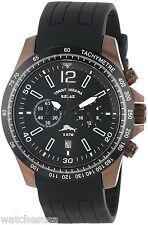 Tommy Bahama Relax RLX1184 Black Dial Polyurethane Strap Chronograph Men's Watch