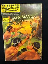 Classics Illustrated #90 Green Mansions by W.H. Hudson (Hrn 89) 1st 1951 Vg+ ink