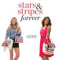 RETIRED Miche Demi Shell STARS & STRIPES Red White Blue NEW No Base Bag