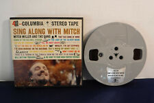 Mitch Miller & Gang, Sing Along With Mitch, Columbia CQ 329,4 track 7.5 IPS Reel
