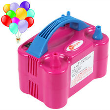 220V 600W Portable Two Nozzle Color Air Blower Electric Balloon Inflator Pump