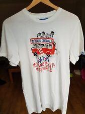 """RARE ADIDAS ORIGINALS """"City serie's London T-shirt di piccole dimensioni, 46 sul petto, anni'80 Casuals"""