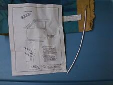 1983 - 1988 FORD THUNDERBIRD DOOR EDGE GUARD MOLDING (1) E3SZ-6320910B
