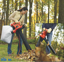 Electric Leaf Blower Vacuum Handheld Mulcher Garden Yard Lawn Vac Cleaner 12 Amp