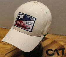 2013 NSSA WORLD SKEET CHAMPIONSHIPS HAT ADJUSTABLE BEIGE EXCELLENT COND C17