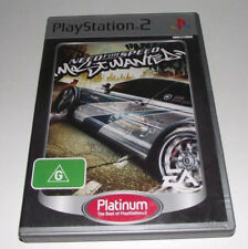 Need For Speed Most Wanted PS2 (Platinum) PAL *Complete*