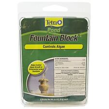 Fountain Block by Tetra Pond -water garden-feature-controls algae-6 blocks-white