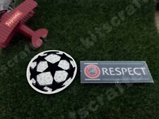 Champions League 2019-2020 Soccer Sleeve Patch Set Starball Respect 19-20