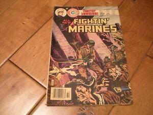 FIGHTIN' MARINES #133 (1977) CHARLTON COMIC 'OKINAWA WW II * KOREAN WAR'