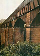 postcard Yorkshire  Iron Bridge  no 11 Pontcysylite Aquaduct 1805  unposted