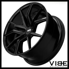 "19"" 20"" XO VERONA BLACK CONCAVE WHEELS RIMS FITS CHEVROLET C5 CORVETTE"