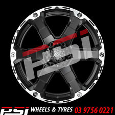 "20"" INCH ADVANTI MAGNUM WHEELS 20X9 6x114.3 35P COLORADO RANGER DMAX HILUX"