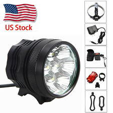 14000LM 7x XML T6 Mountain Bike Bicycle Head Light High Power Headlamp Lamp