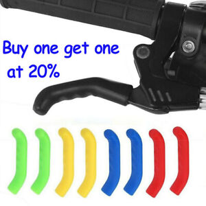 Silicone Coloured BRAKE LEVER GRIP MTB ,BMX pair COVER PROTECTOR MOUNTAIN BIKE