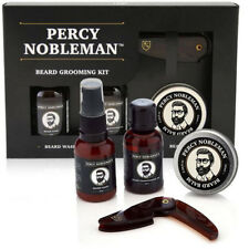 Percy Nobleman Beard Grooming Kit Beard Oil, Beard Balm, Beard Wash OZ SELLER