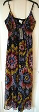 LONG TALL SALLY FLORAL CREPE SEQUIN MAXI DRESS '' LISA '' - SIZE 12 BNWT