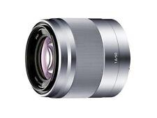 SONY single focus lens E 50 mm F 1.8 OSS APS-C format dedicated SEL50F18