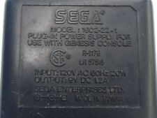 SEGA 1002-22-1 PLUG IN POWER SUPPLY FOR USE WITH GENESIS CONSOLE