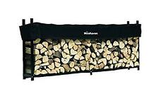 The Woodhaven 10 Foot Firewood Log Rack With Cover