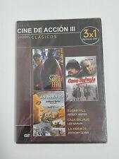 SUGAR HILL, CAZA SALVAJE y LA HORA 25  Dvd 3x1 Clasicos de Accion PRECINTADO
