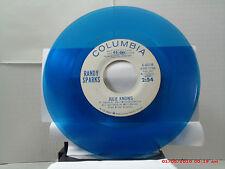 RANDY SPARKS -(45)- BLUE VINYL RADIO STAION COPY - JULIE KNOWS/SAME SONG--  1964