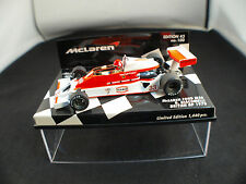 Minichamps F1 Mc Laren Ford M26 Giacomelli Ed 43 n°97 British GP 1978 1/43 MIB