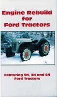 Ford Tractor 9N, 2N, 8N 9 9-N 2-N 8-N Tractor Engine Rebuild DVD