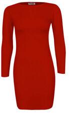 Vestidos de mujer de color principal rojo talla S