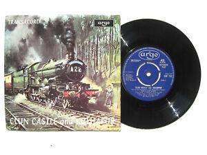 """CLUN CASTLE & KOLHAPUR * Argo Transacord 7"""" EP 1971"""