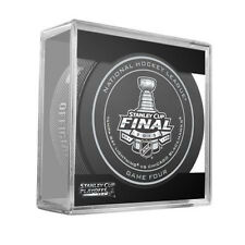 2015 Stanley Cup Final Game 4 Four Puck - Tampa Bay Lightning Chicago Blackhawks