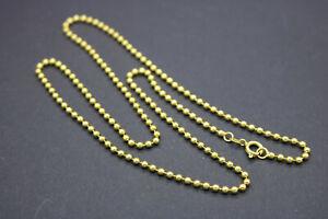 Goldkette Halskette Kugelkette Gelbgold - 750er / 18 Karat - 50 cm - 2,30 mm