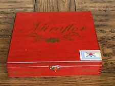 "Miraflor Churchill Habana Wooden Cigar Box Empty 8.25""x7.75""x2.0"" EUC!"