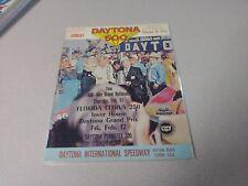 Richard Petty Signed Autographed 1971 Daytona 500 Program JSA COA NASCAR Vintage