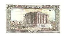 Libanon Banknote 50 Livres