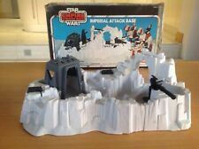 Vintage Star Wars IMPERIAL ATTACK BASE playset complete and boxed - Kenner 1982