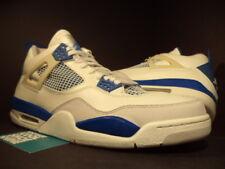 2006 Nike Air Jordan IV 4 Retro WHITE MILITARY BLUE CEMENT GREY 308497-141 DS 13