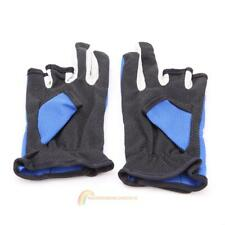 1 Pair Fishing Exposed 3 Cut Finger Skid Proof Anti Slip Outdoor Fishing Gloves