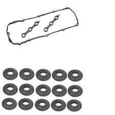 Valve Cover Gasket with15 pieces Bolt Washers Kit Elring Klinger New