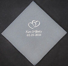 275 Personalized Wedding beverage napkins cocktail custom printed wedding favors