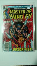 MARVEL COMICS GROUP 105 MASTER OF KUNG FU RAZOR FIST! High Grade Book K4-37