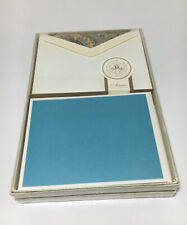 Southworth Anna Griffin Paisley Flat Panel Note Cards X20 W/ Envelopes Sealed